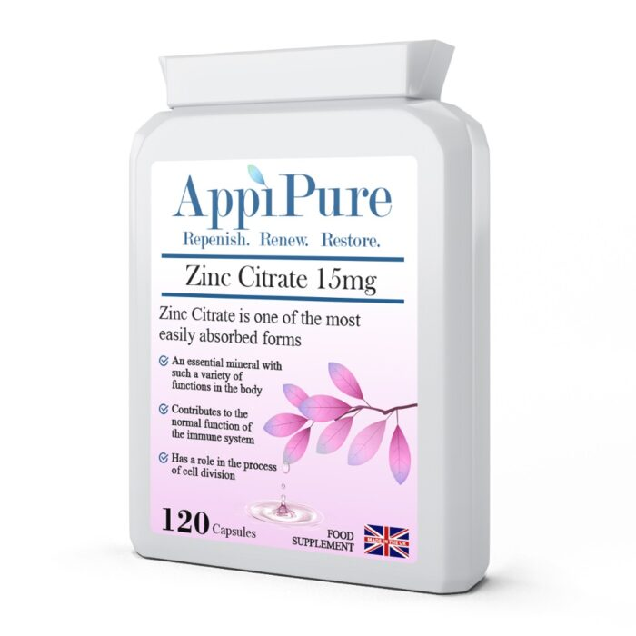 Zinc Citrate 15mg